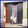 Scandiflex strip-curtain